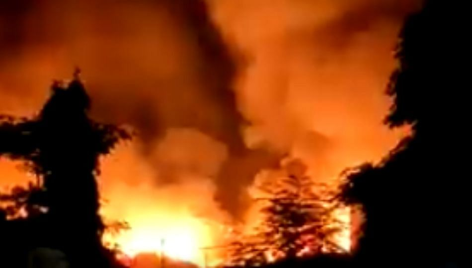Mankhurd Fire : मुंबईतील मानखुर्दच्या भंगार गोदामाला भीषण आग
