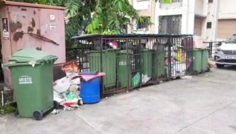 अंबरनाथ शहरात कचराप्रश्न पेटला; नगरपालिकेनं ओला कचरा उचलणं केलं बंद