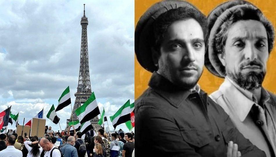 तालिबानला फ्रान्सनधून विरोध; आयफेल टॉवरवर झळकले नॉर्दन अलायन्सचे झेंडे