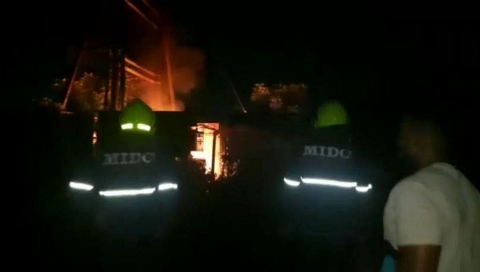 Ambernath : ऑईल चोरी करताना ट्रान्सफॉर्मरला लागली मोठी आग