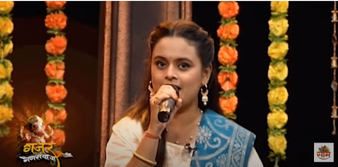 Saam Special: ''गजर गणरायाचा'' with Mugdha Vaishampayan आणि Prathamesh Laghate; पाहा Video