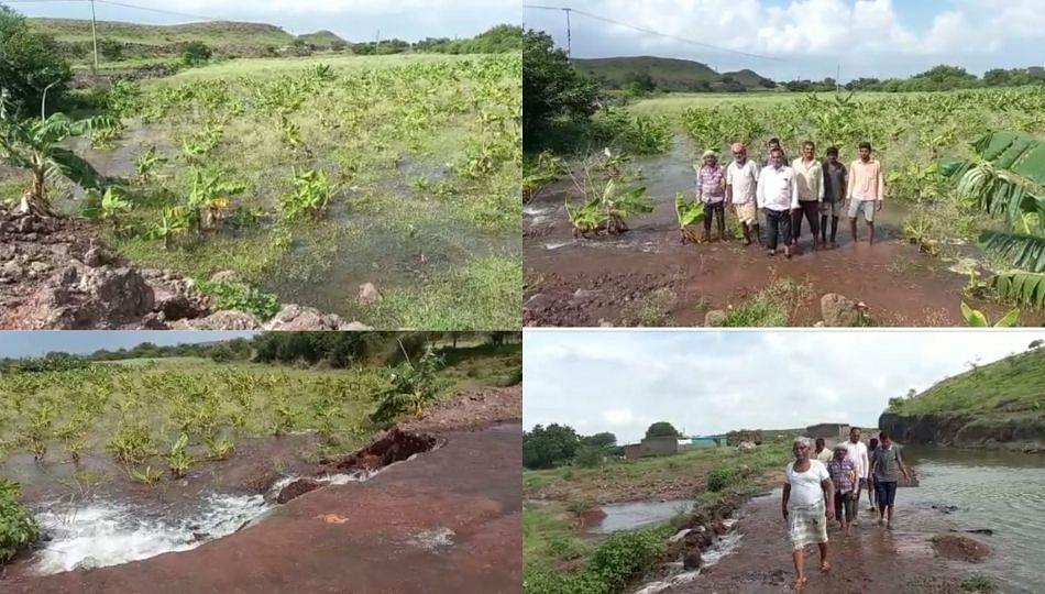 कॅनॉलचे पाणी अचानक सोडल्याने सनमडीतील 400 एकर जमीन पाण्याखाली; शेतकऱ्यांचे प्रचंड नुकसान!