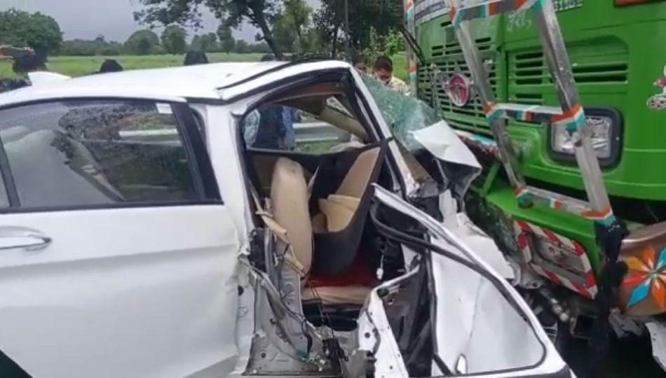 बैतुल खामगाव राष्ट्रीय महामार्गावर पुन्हा अपघात