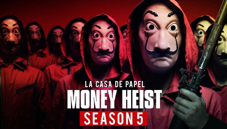 Bella ciao: Money Heist 5 वेब सिरीज आज Netflix वर रिलीज होणार