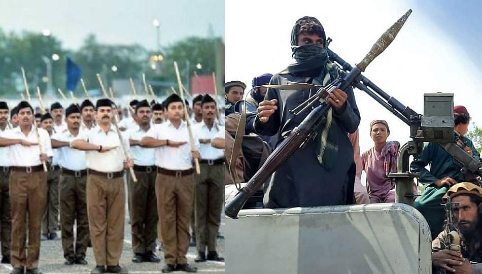 'RSS' हे तर भारतातील 'तालिबान' - RJD नेत्याची टीका