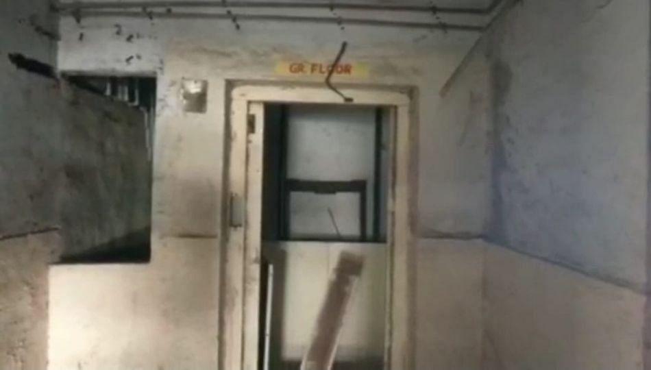 आधी दरवाजे मग खिडक्या,नळ, वायरी आता बीएसयूपीच्या इमारतीची लिफ्ट चोरली...पालिका मात्र अनभिज्ञ