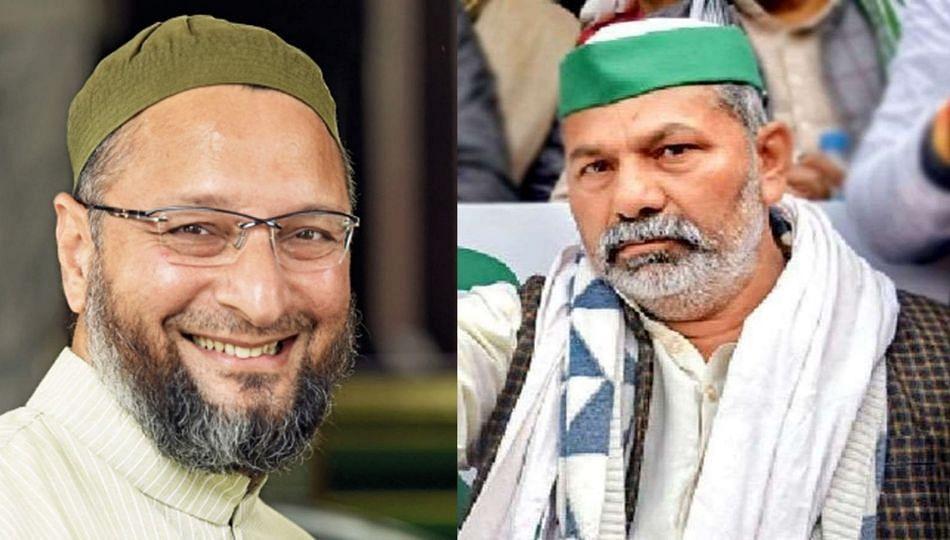 UP Politics | असदुद्दीन ओवैसी भाजपाचे चाचाजान; राकेश टिकैत यांची बोचरी टीका