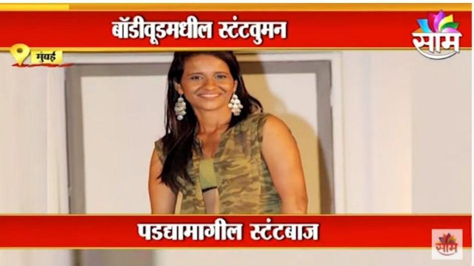 Navratri Special | पाहा बॉलीवूडमधल्या महिला स्टंटबाजाची कहाणी;गीता टंडनचा संघर्षमय प्रवास | Navdurga
