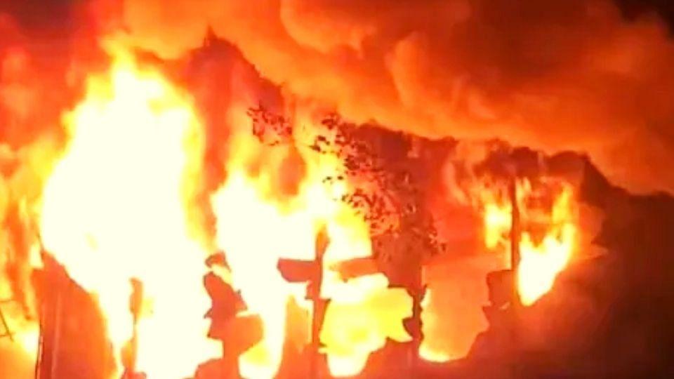 Taiwan: 13 मजली इमारतीला भीषण आग, 46 जणांचा होरपळून मृत्यू, अनेक जखमी