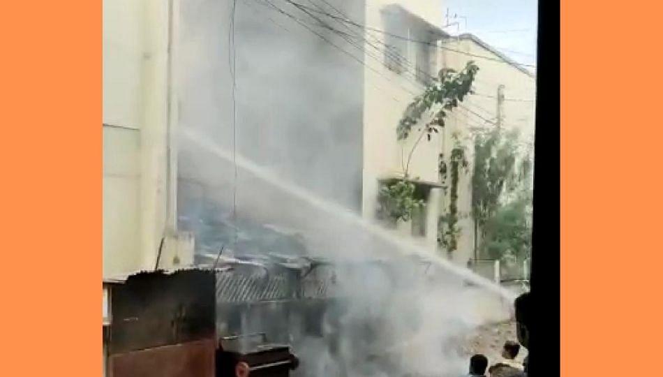 बीएसएनएल कार्यालयात आग; लाखोंचे झाले नुकसान