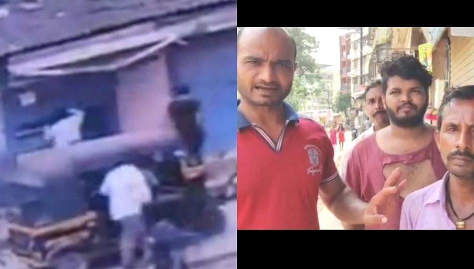दिव्यातील दुकानदाराला शिवसैनिकांची मारहाण?; भाजपने दिला CCTV चा पुरावा