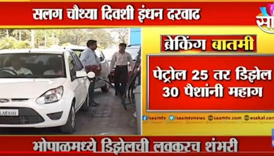 Important News | देशात पुन्हा इंधन दरवाढीचा भडका, पहा इंधन रुपयांनी महागलयं