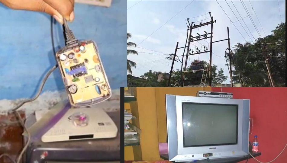 सांगलीकरांना वीज वितरण कंपनीचा झटका; टीव्ही, फ्रिज, मोबाईलसह शेकडो विद्युत उपकरणे जळून खाक !