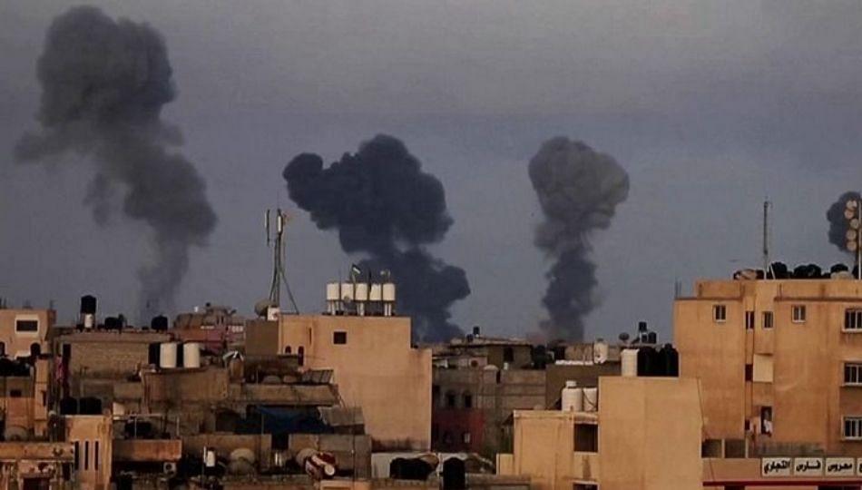 इस्राईलने दिला हमासला दणका; हवाई हल्ल्यात १० म्होरके मारले