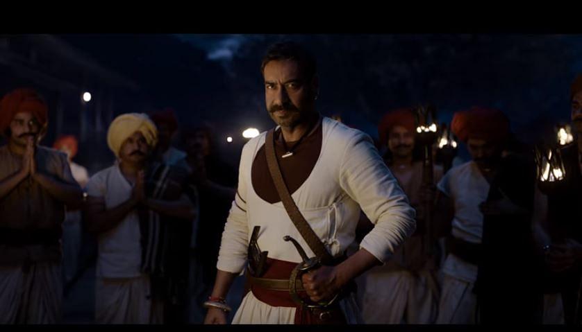 अजय देवगणच्या 'तान्हाजी' चित्रपटातील पहिलं गाणं प्रदर्शित