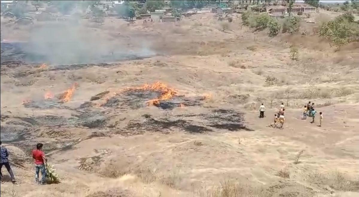 अंबाबरवा अभयारण्यातीलइको टुरिझम पार्कला आग; कोट्यवधींचे नुकसान