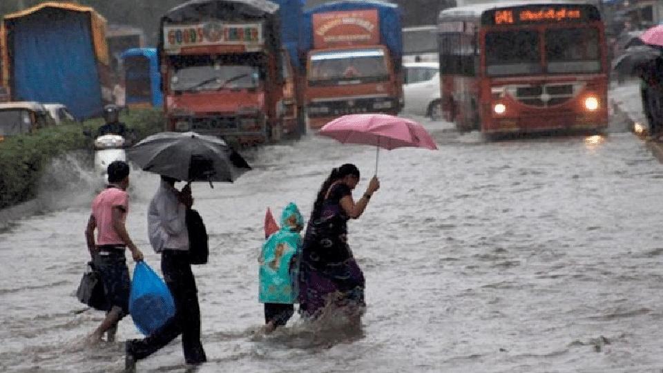 नवी मुंबईत दहा वर्षांतील सर्वाधिक पावसाची नोंद