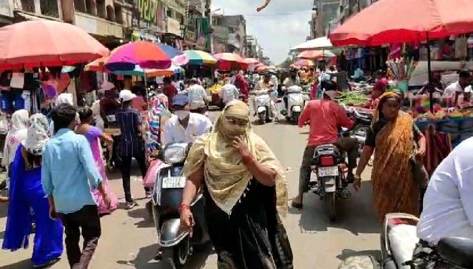 अनलॉक होताच बाजारात उसळली नागरिकांची गर्दी