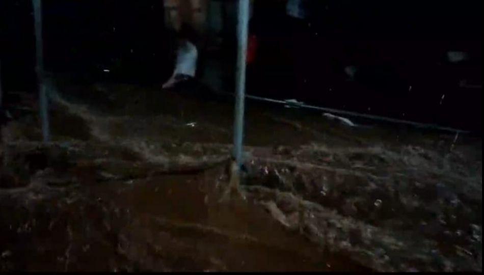 मुंबई गोवा राष्ट्रीय महामार्ग: नियोजनशून्य कारभारामुळे गांधारपाले गावाला पाण्याचा विळखा