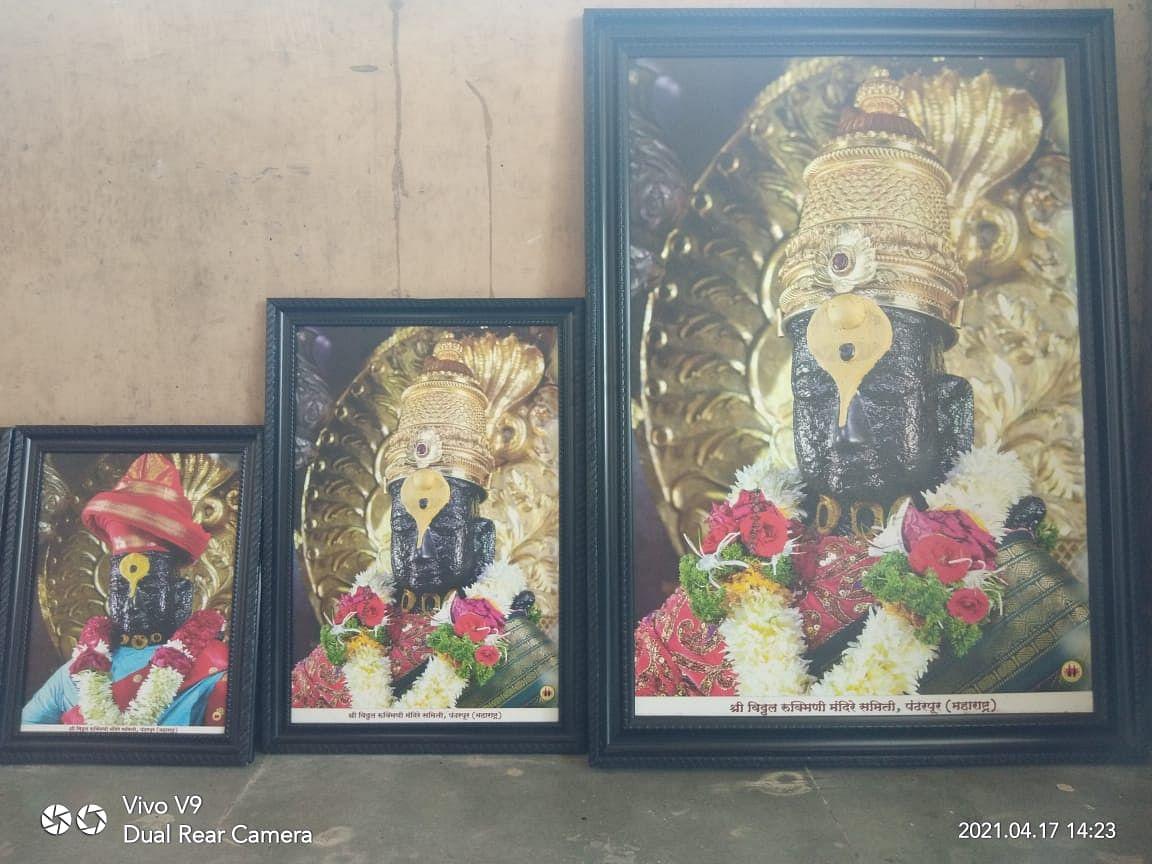 Ashadhi Wari 2021 विठ्ठल रुक्मिणी मंदिरात नयनरम्य फुलांची आरास
