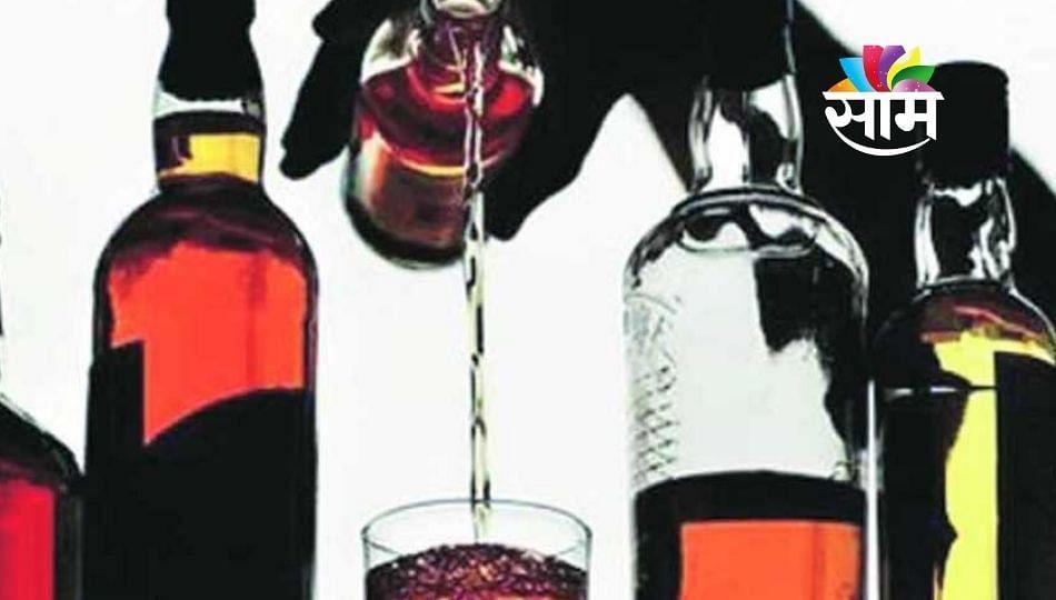 परवानगी मिळताच नियम मोडून बार आणि वाईन शॉपवर तळीरामांची झुंबड