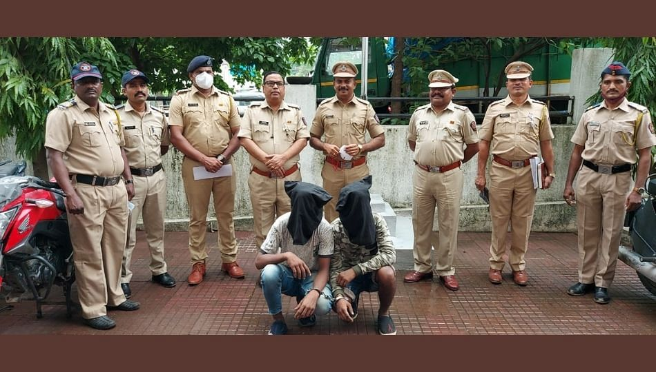 मंदिरात चोरी केल्यानंतर चोरटे तासाभरात पोलिसांच्याजाळयात
