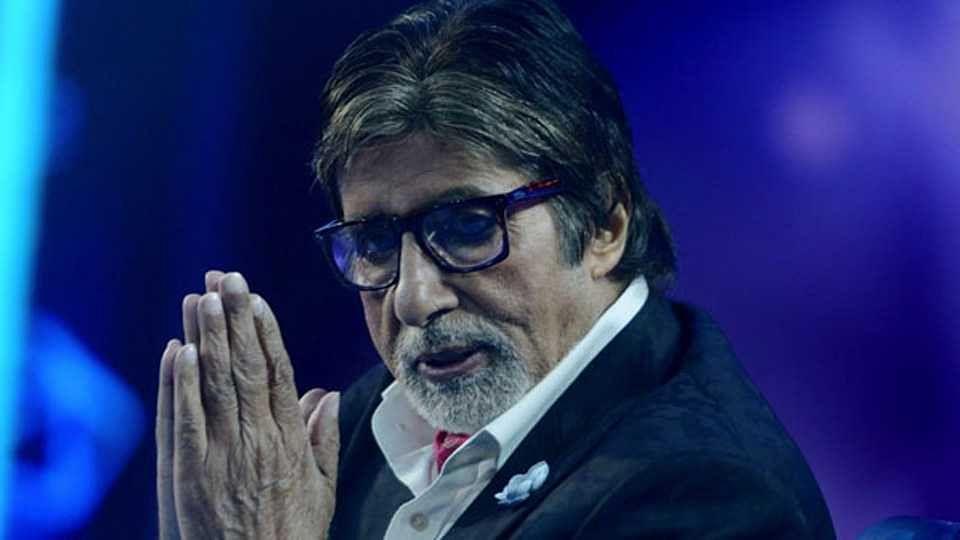 अमिताभ बच्चन यांनी शेअर केले 'झुंड'चं पहिलं पोस्टर