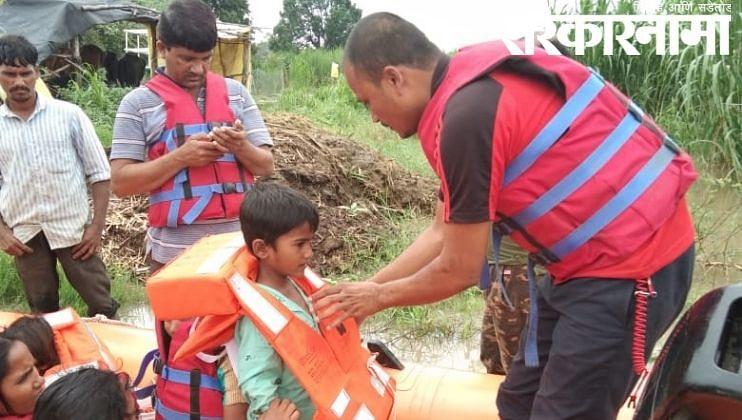 लातूरमध्ये पावसाने उडवला हाहाःकार : मदतकार्य वेगात