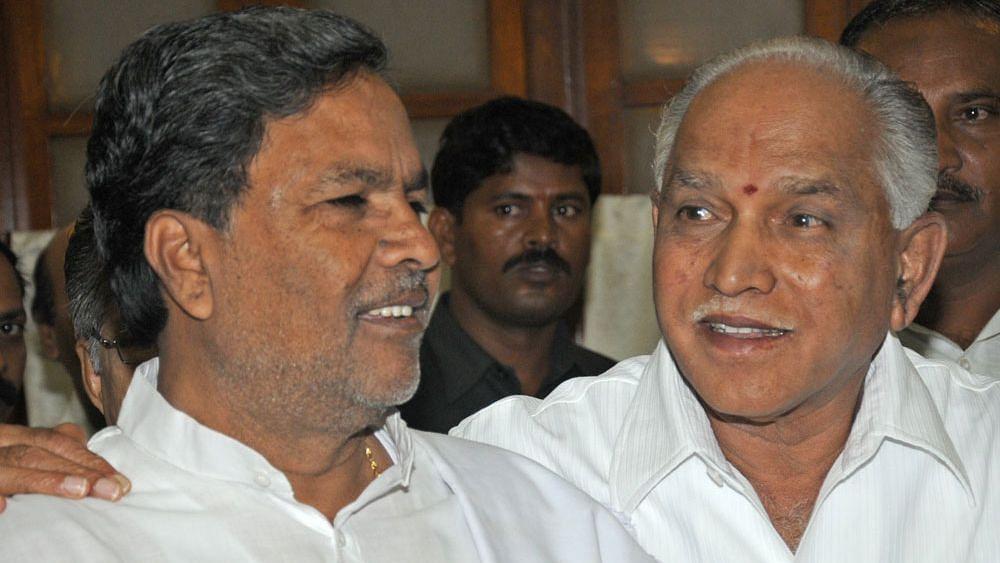 कर्नाटकात राजकीय भूकंप! येडियुरप्पा अन् सिद्धरामय्यांची गुप्त भेट