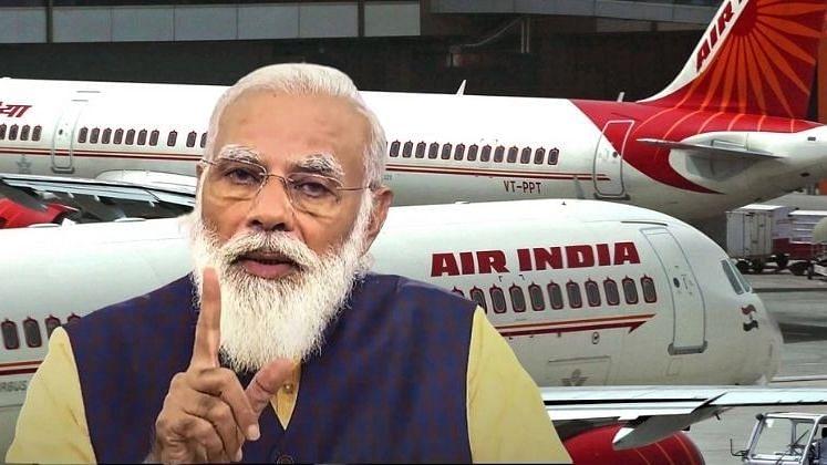 एअर इंडियाची टाटाला विक्री ही तर 'पाँझी स्कीम'! भाजप खासदाराचा घरचा आहेर