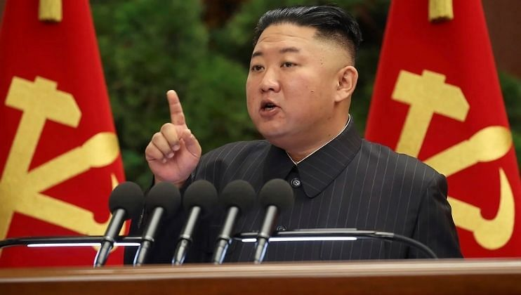 उत्तर कोरियाचे हुकूमशहा किम यांचे थेट बलाढ्य अमेरिकेलाच आव्हान