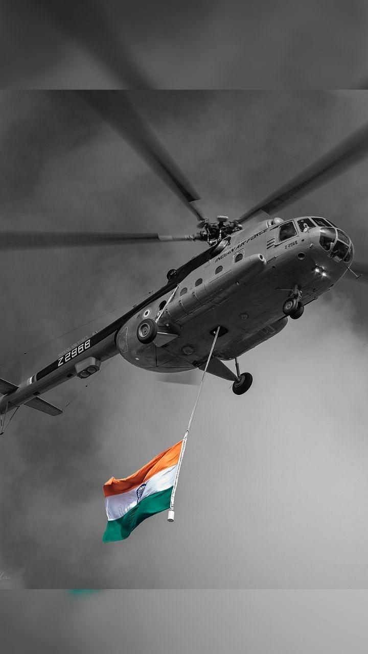 Indian Air force Day : 'नभं स्पृशं दीप्तम'