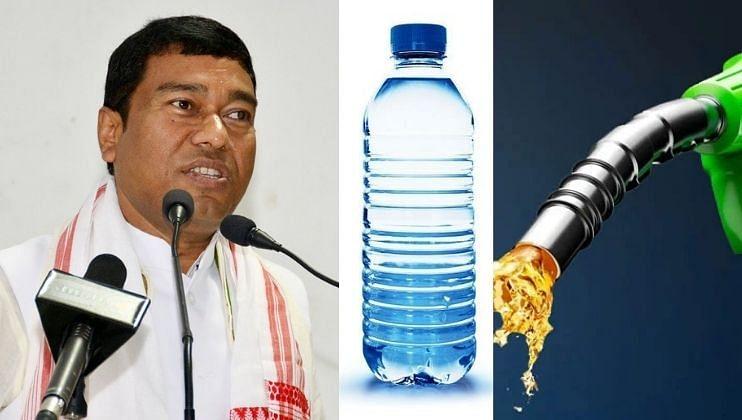 पाण्याच्या बाटलीपेक्षा पेट्रोल स्वस्त! मोदींच्या मंत्र्यांनी  मांडलं गणित