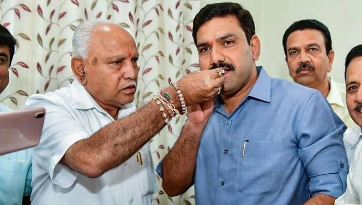 Basavraj Bommai and Narendra Modi