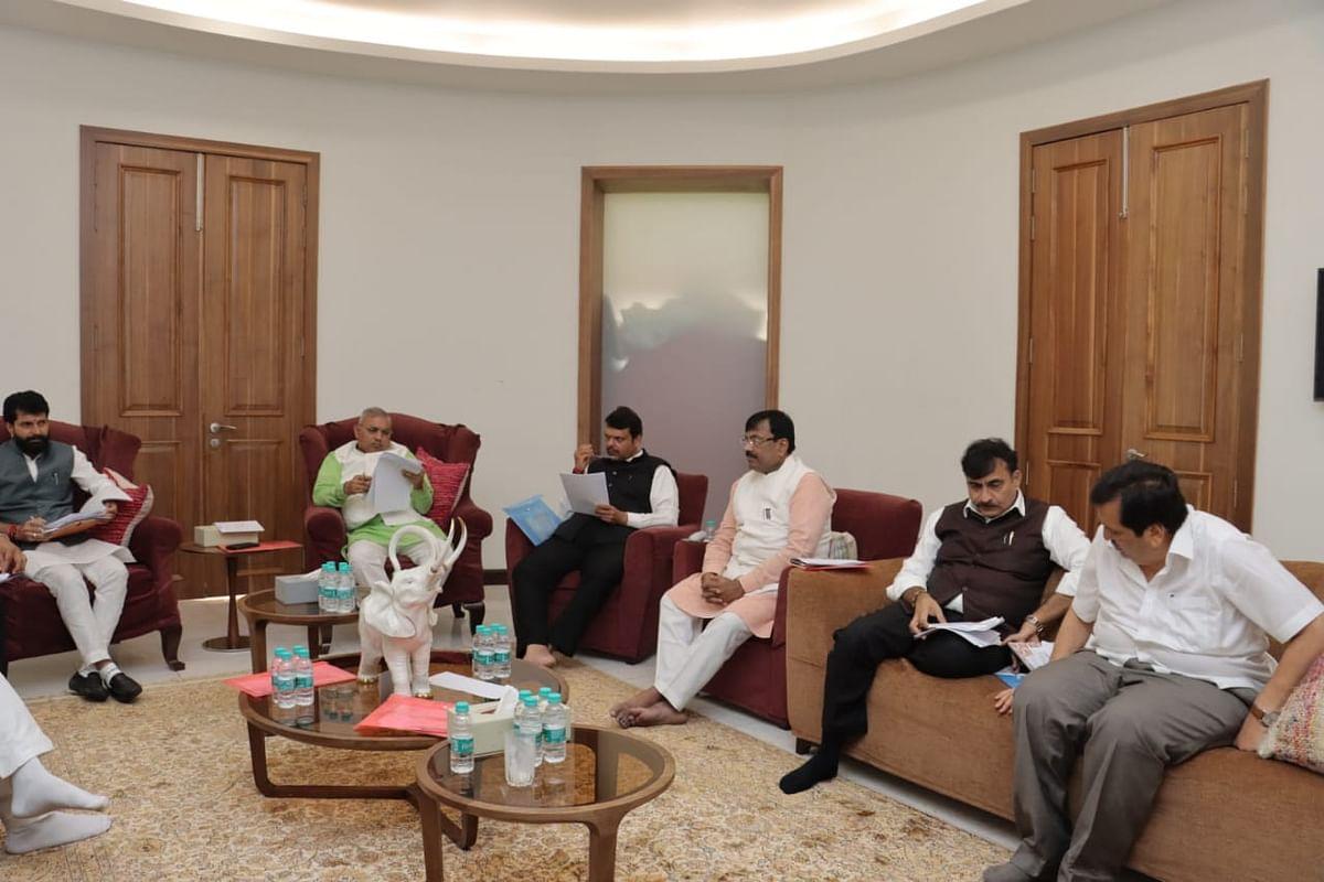 BJP core meeting