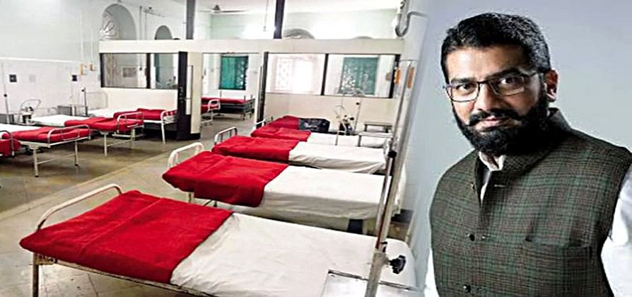 आमदार शिवेंद्रसिंहराजेंनी सुरू केले कोविड सेंटर; 80 बेडमध्ये 32 ऑक्सिजनचे बेड