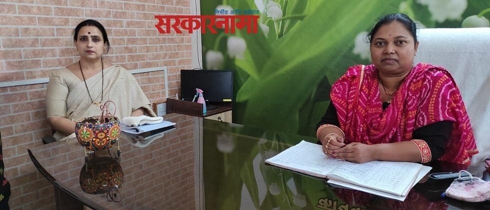 महसूलमंत्री थोरातांना एका महिला अधिकाऱ्याची व्यथा ऐकण्यास वेळ नाही - चित्रा वाघ