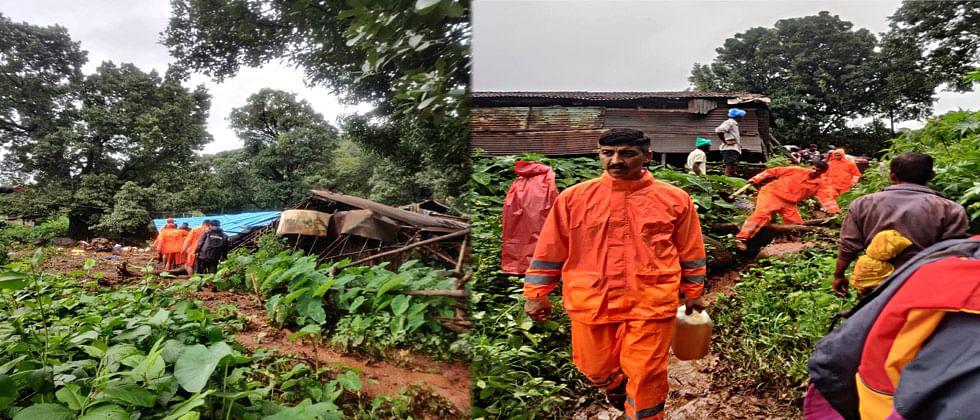 अखेर आंबेघरला एनडीआरएफची टीम पोहोचली; सहा मृतदेह शोधण्यात यश