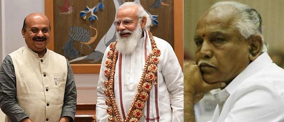 बोम्मई दिल्लीत मोदी, शहांच्या भेटीला! येडियुरप्पा म्हणाले, ढवळाढवळ करणार नाही!
