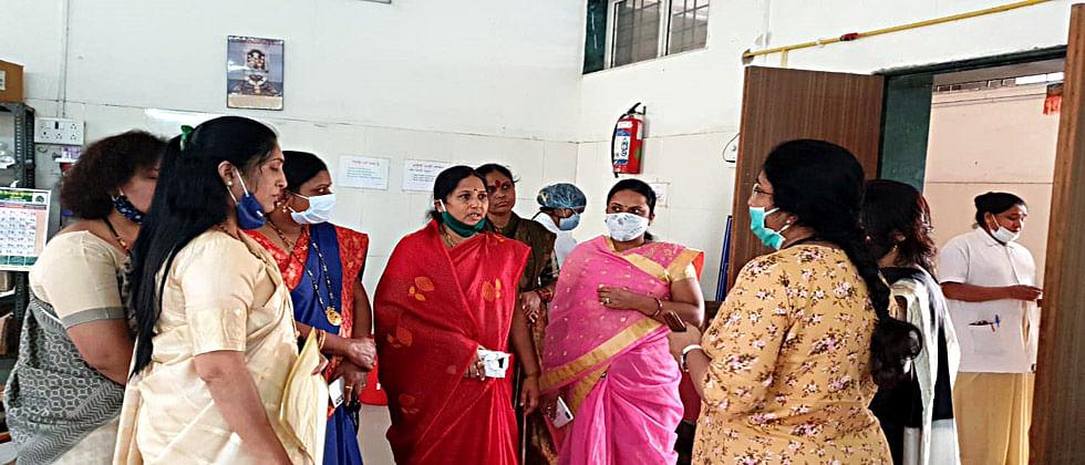 आळंदी ग्रामीण रुग्णालयात इर्मजन्सी एक्झिटच नाही; भाजप महिला मोर्चाच्या ऑडिटमध्ये आढळली त्रूटी