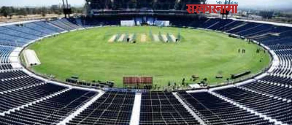 गहुंजे क्रिकेट स्टेडियममध्ये घुमला 'इंग्लड टीम गो बॅक'चा नारा