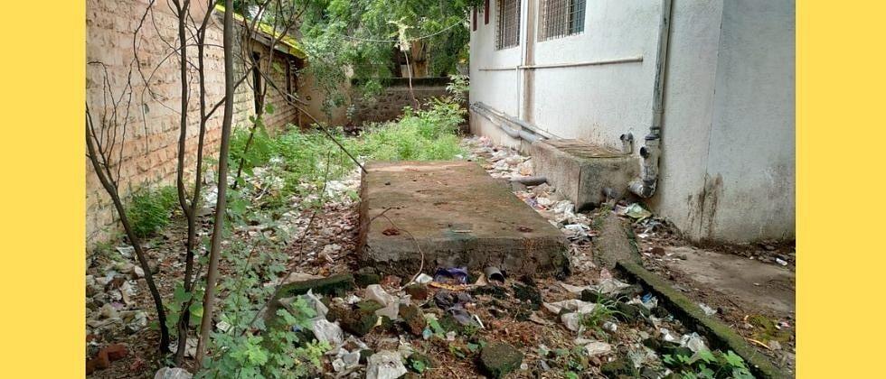 टिळक भोसांनी केली श्रीगोंद्यातील शासकीय कार्यालयांतील स्वच्छतेची पोलखोल