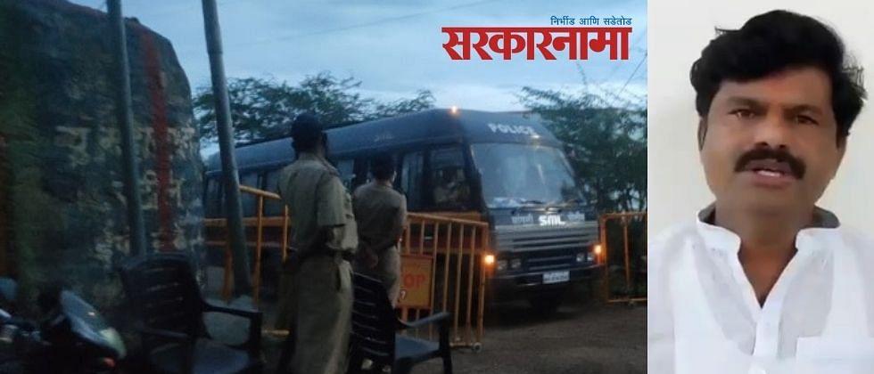 बैलगाडा शर्यत रोखण्यासाठी नऊ गावांत संचारबंदी; पडळकरांवर पोलिसांचा 'वाॅच'