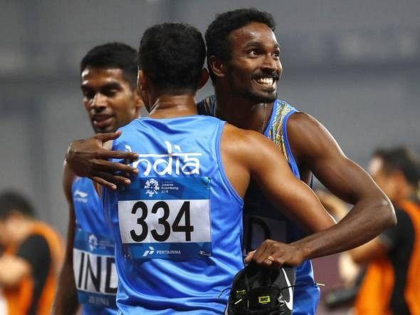 ஆண்களுக்கான 4×400 மீட்டர் ஓட்ட இறுதிப் போட்டியில் இந்தியா அபாரம்!