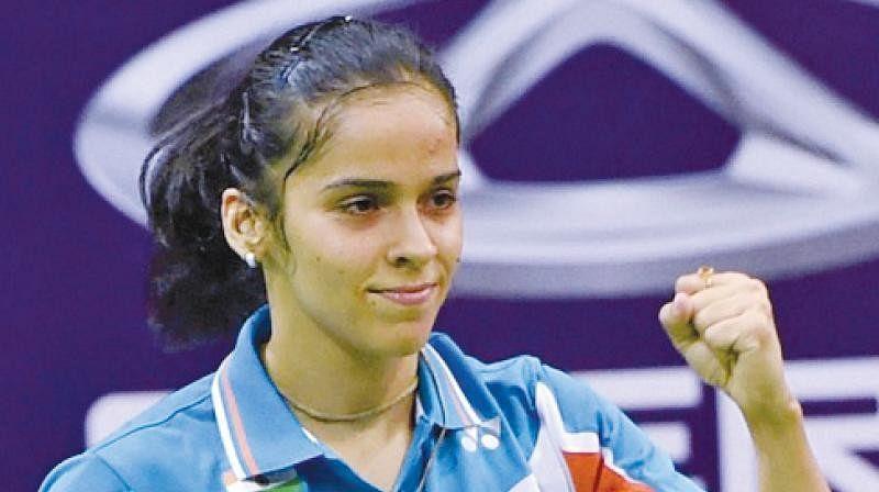 ஆசிய விளையாட்டுமகளிருக்கான ஒற்றையா் பேட்மிண்டன்: சாய்னா தோல்வி!