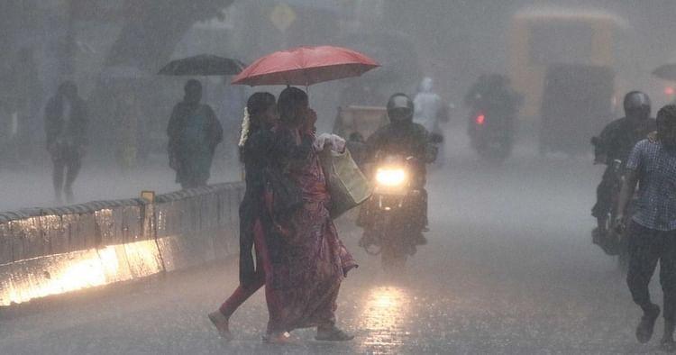 தமிழகத்தில் 9 மாவட்டங்களுக்கு கனமழை: வானிலை ஆய்வு மையம் தகவல்!