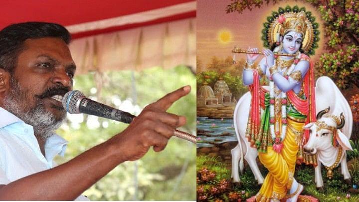 இந்துக்களை சாதியாக பிரித்தவர்தான் கிருஷ்ண பகவான்: திருமா பேச்சு!