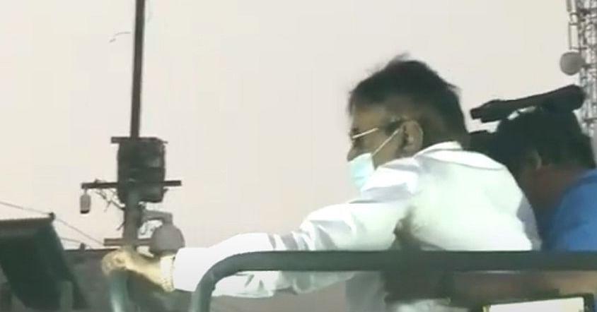பிரச்சாரத்தை ஆரம்பித்தார் விஜயகாந்த்: தொண்டர்கள் உற்சாகம்!