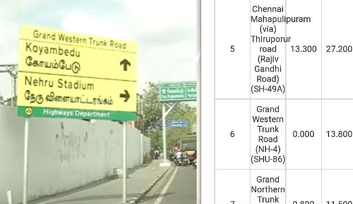 சென்னை ஈ.வெ.ரா பெரியார் சாலை பெயர் மாற்றப்பட்டதா?