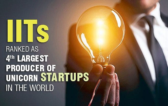 IITs Ranked as 4th Largest Producer of Unicorn Startups in the World